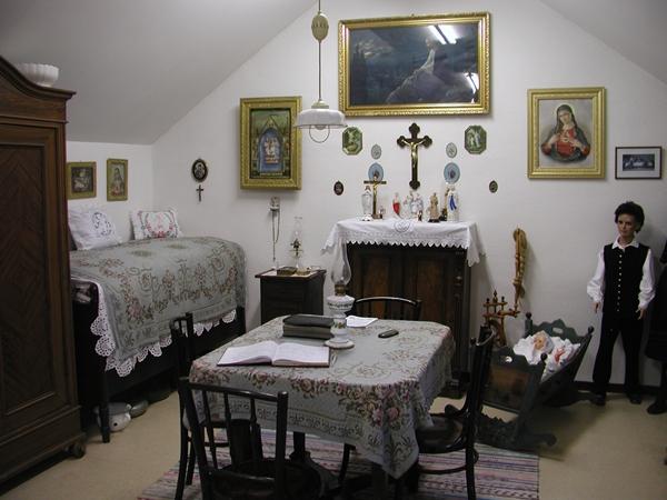 Kleines Heimatmuseum im Haus Pannonia