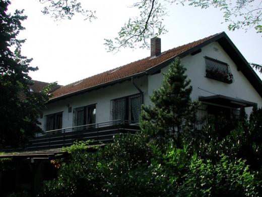 Haus Pannonia - Ansicht aus dem Woogbachtal